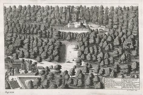 Charles II Hides in the Woods at Boscobel-Michael van der Gucht-Stretched Canvas Print