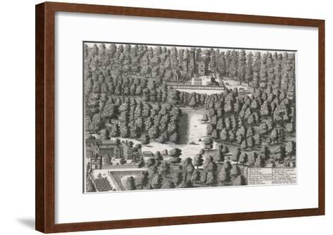 Charles II Hides in the Woods at Boscobel-Michael van der Gucht-Framed Art Print