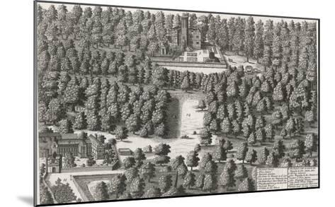 Charles II Hides in the Woods at Boscobel-Michael van der Gucht-Mounted Giclee Print