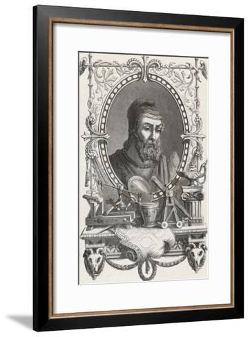 Archimedes Greek Mathematician and Inventor--Framed Art Print
