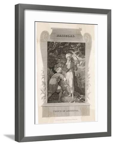 Rasselas, Prince of Abyssinia--Framed Art Print