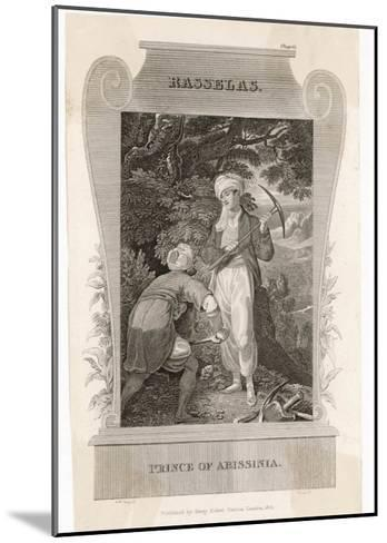 Rasselas, Prince of Abyssinia--Mounted Giclee Print