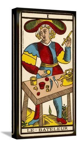 Tarot: 1 Le Bateleur, The Juggler--Stretched Canvas Print