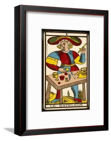 Tarot: 1 Le Bateleur, The Juggler--Framed Art Print