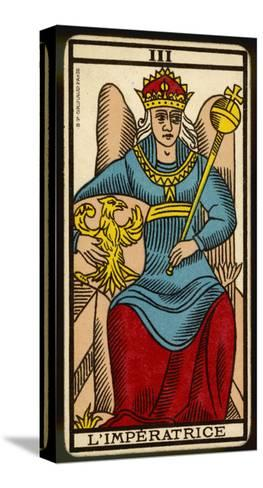 Tarot: 3 L'Imperatrice, The Empress--Stretched Canvas Print