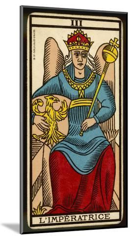 Tarot: 3 L'Imperatrice, The Empress--Mounted Giclee Print