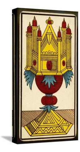 Tarot: The Ace of Cups--Stretched Canvas Print