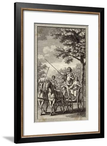 Boadicea (Aka Boudicca) Queen of the Iceni in Her Chariot--Framed Art Print
