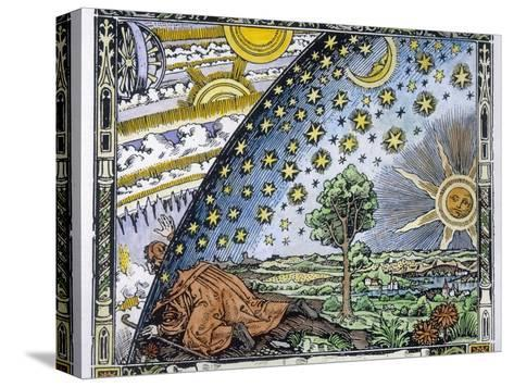 Medieval Missionary Finds a Place Where the Earth Touches Heaven--Stretched Canvas Print
