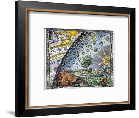 Medieval Missionary Finds a Place Where the Earth Touches Heaven--Framed Art Print