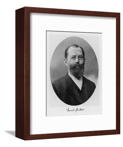 Emil Fischer, German Chemist--Framed Art Print