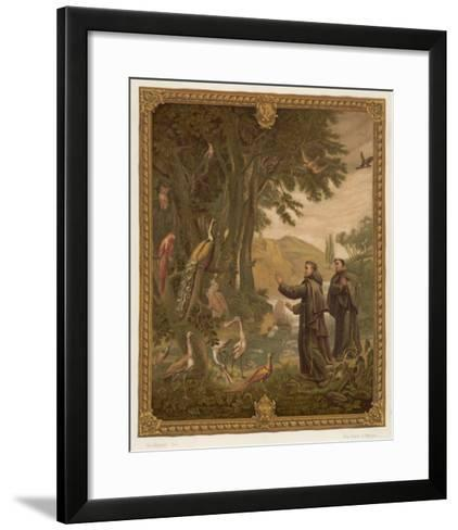 Saint Francis of Assisi, Preaching to the Birds--Framed Art Print