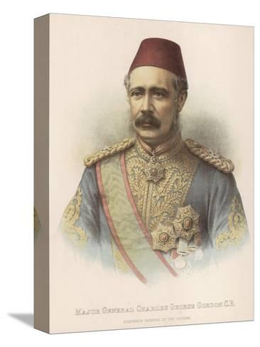 General Charles Gordon British Military Governor General of the Sudan--Stretched Canvas Print