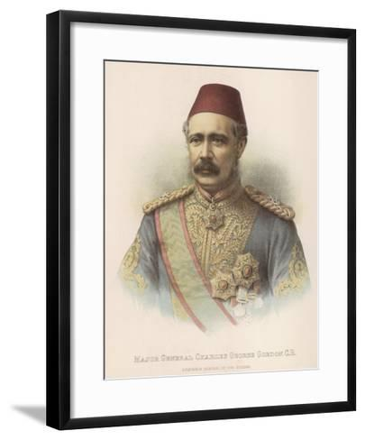 General Charles Gordon British Military Governor General of the Sudan--Framed Art Print