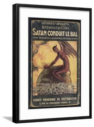 Satan Leads the Dance--Framed Art Print