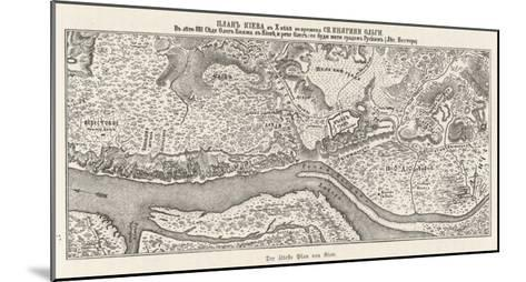 Kiev: The Oldest Known Map--Mounted Giclee Print