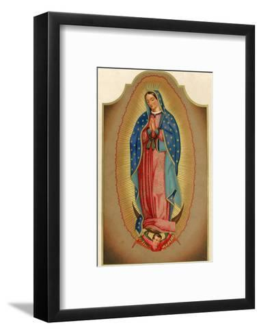 Nuestra Senora de Guadalupe Mexico Miraculously Imprinted--Framed Art Print