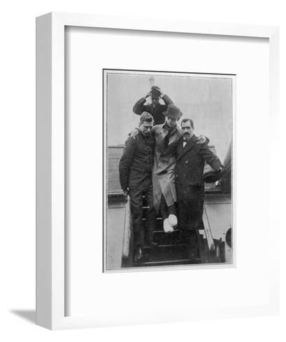 Mr. H Bride Second Radio Telephonist and Survivor of the Titanic Disaster--Framed Art Print