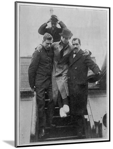 Mr. H Bride Second Radio Telephonist and Survivor of the Titanic Disaster--Mounted Giclee Print