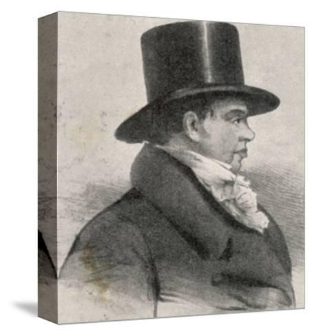 Nathan Mayer Rothschild Founder of the English Branch of the International Banking House--Stretched Canvas Print
