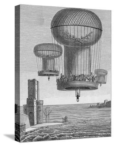 Invasion Plans, The Thiloriere is a Huge Hot-Air Balloon--Stretched Canvas Print