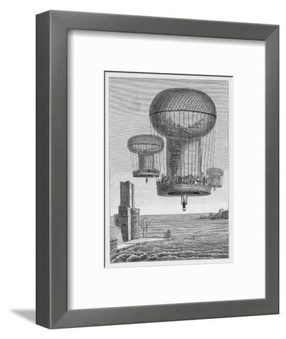Invasion Plans, The Thiloriere is a Huge Hot-Air Balloon--Framed Art Print