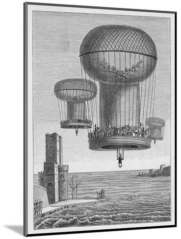 Invasion Plans, The Thiloriere is a Huge Hot-Air Balloon--Mounted Giclee Print