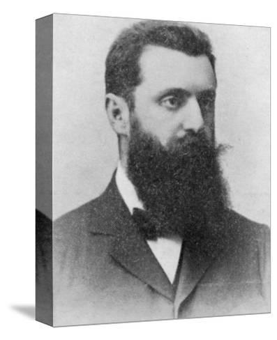 Theodor Herzl Hungarian Zionist Leader--Stretched Canvas Print