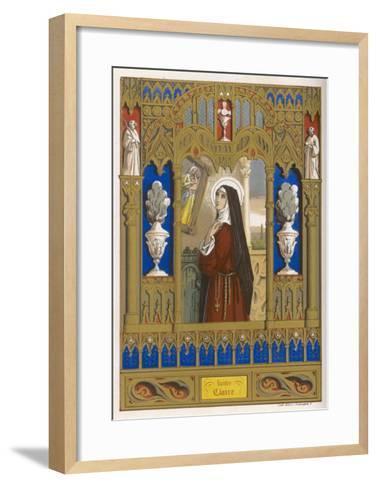 Saint Clare of Assisi Follower of S. Francesco--Framed Art Print
