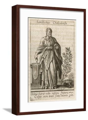 Iamblichus Syrian Neoplatonist Philosopher and Magician--Framed Art Print