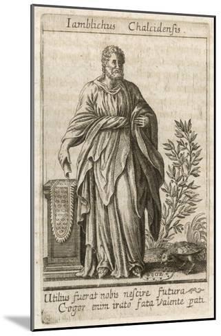 Iamblichus Syrian Neoplatonist Philosopher and Magician--Mounted Giclee Print