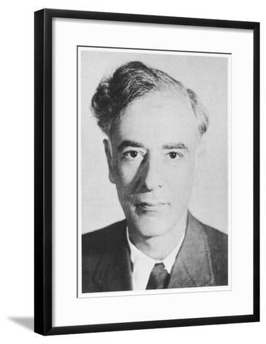 Lev Davidovich Landau Russian Physicist--Framed Art Print