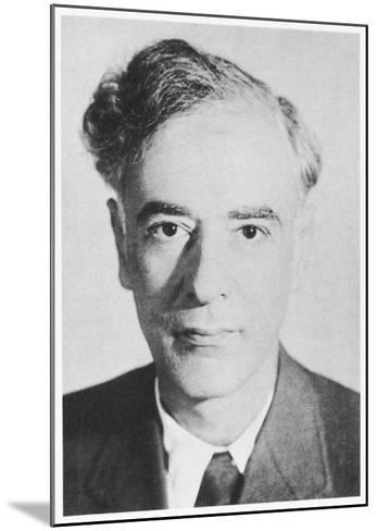 Lev Davidovich Landau Russian Physicist--Mounted Giclee Print