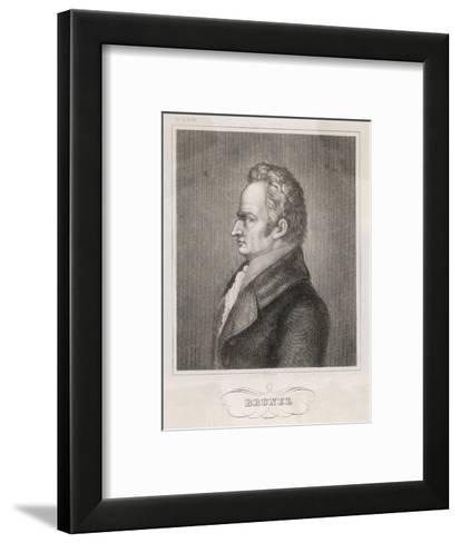 Marc Isambard Brunel Enginner Notably the Thames Tunnel--Framed Art Print