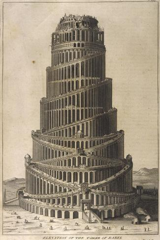 Tower of Babel--Stretched Canvas Print