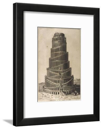 Tower of Babel--Framed Art Print