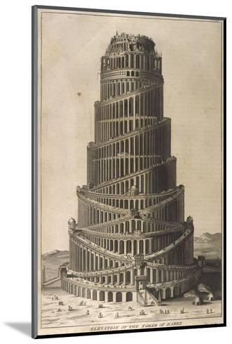 Tower of Babel--Mounted Giclee Print