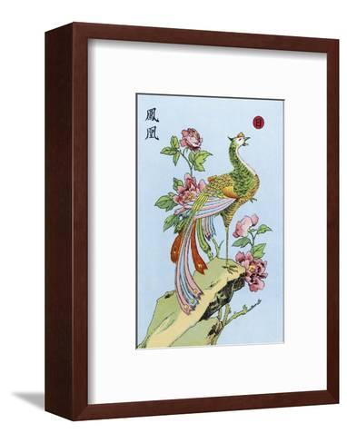 Fong Hoang, The Chinese Phoenix--Framed Art Print