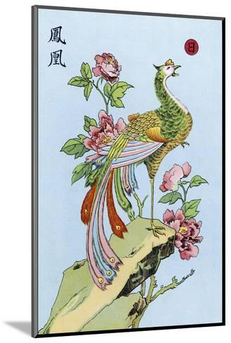 Fong Hoang, The Chinese Phoenix--Mounted Giclee Print