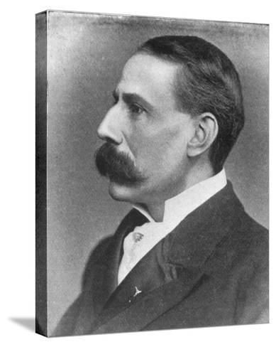 Edward Elgar Composer at the Time of the Performance of His Oratorio the Apostles--Stretched Canvas Print