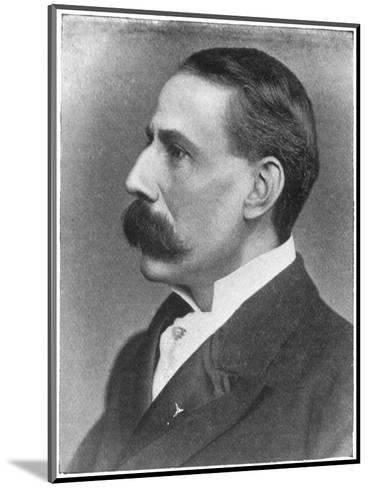 Edward Elgar Composer at the Time of the Performance of His Oratorio the Apostles--Mounted Giclee Print