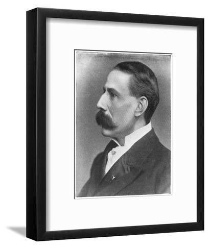 Edward Elgar Composer at the Time of the Performance of His Oratorio the Apostles--Framed Art Print