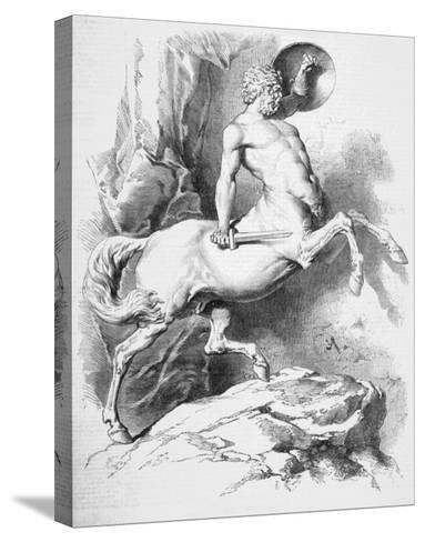 Centaur--Stretched Canvas Print
