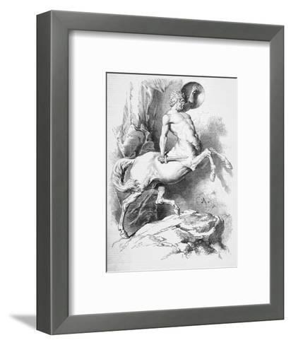Centaur--Framed Art Print