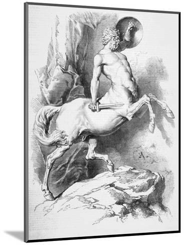 Centaur--Mounted Giclee Print