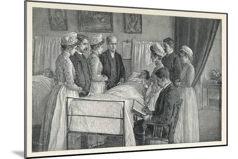Bellevue Hospital New York a Critical Case--Mounted Giclee Print