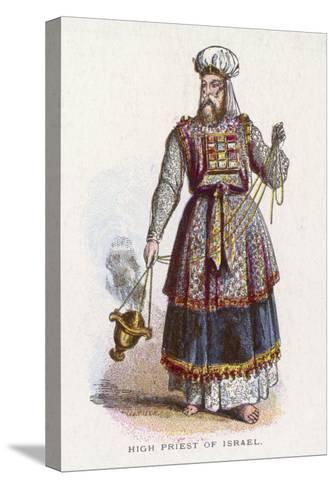 Jewish High Priest in His Ceremonial Garb--Stretched Canvas Print