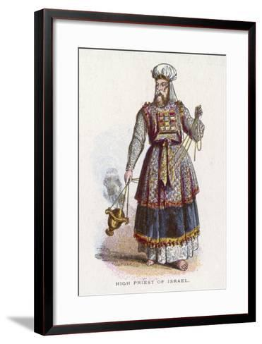 Jewish High Priest in His Ceremonial Garb--Framed Art Print