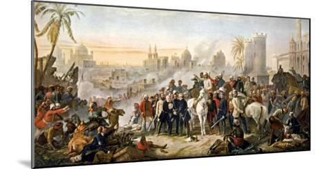 The Relief of Lucknow Where the Garrison and Residents Had Been Besieged by Sir Colin Campbell--Mounted Giclee Print