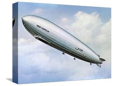 LZ 127 Graf Zeppelin--Stretched Canvas Print